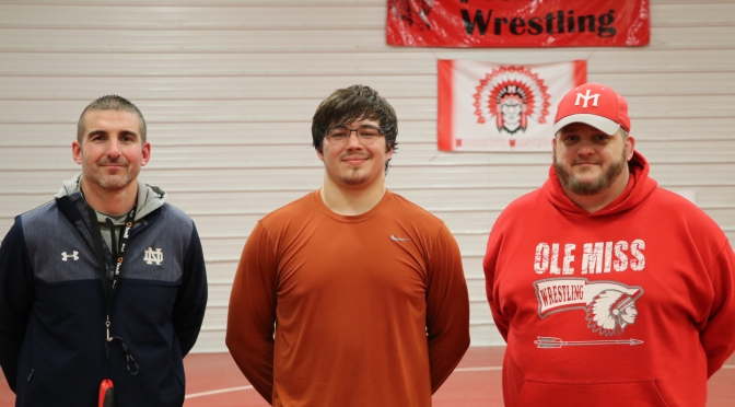 Indians send 3 wrestlers to Ft Wayne Semi-State