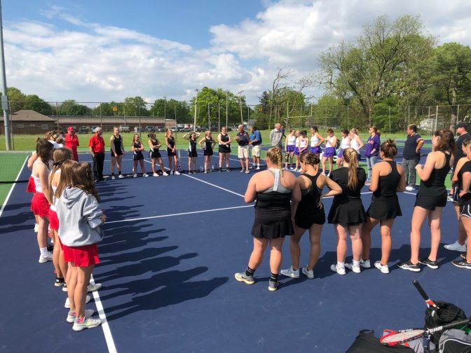 Tennis ends season in a tough loss, baseball sets to go head to head with rival